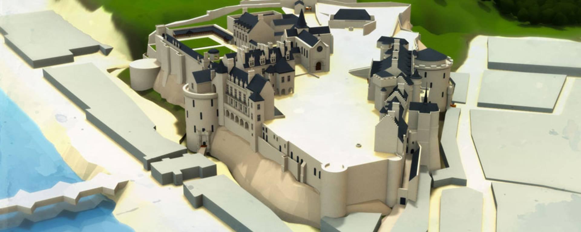 El Castillo en tiempos de Luis Felipe