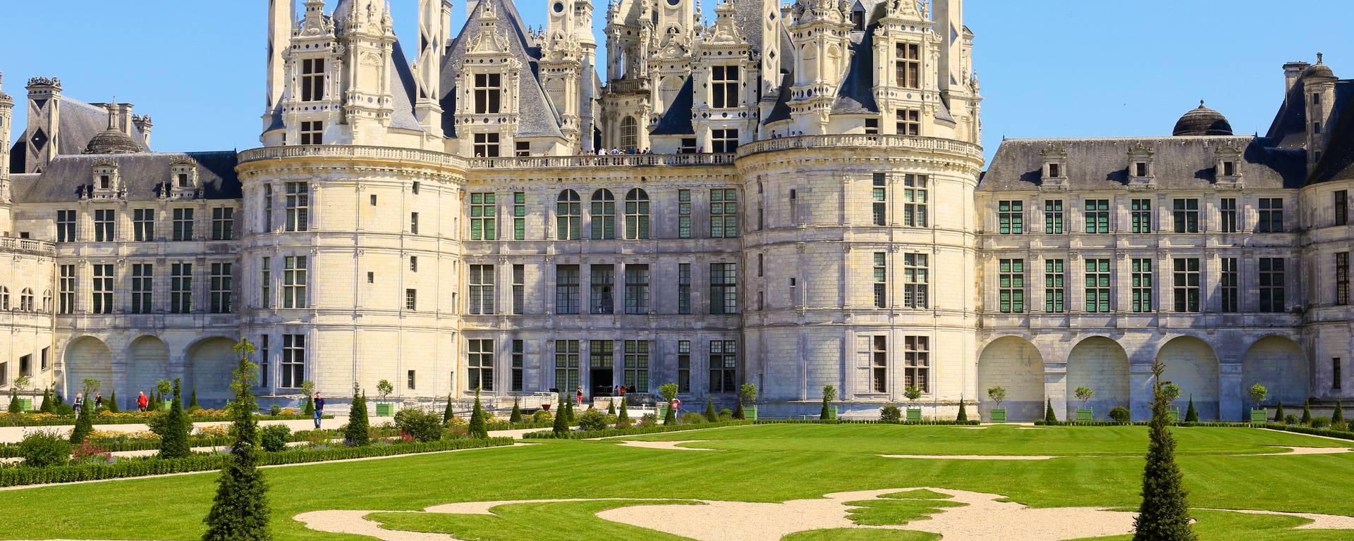 Jardines y castillo de Chambord. © Ludovic Letot