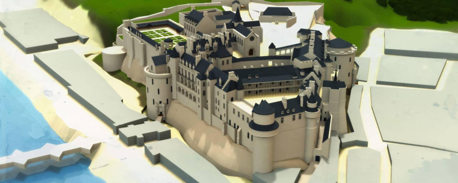 El Castillo en tiempos de Catalina de Médicis
