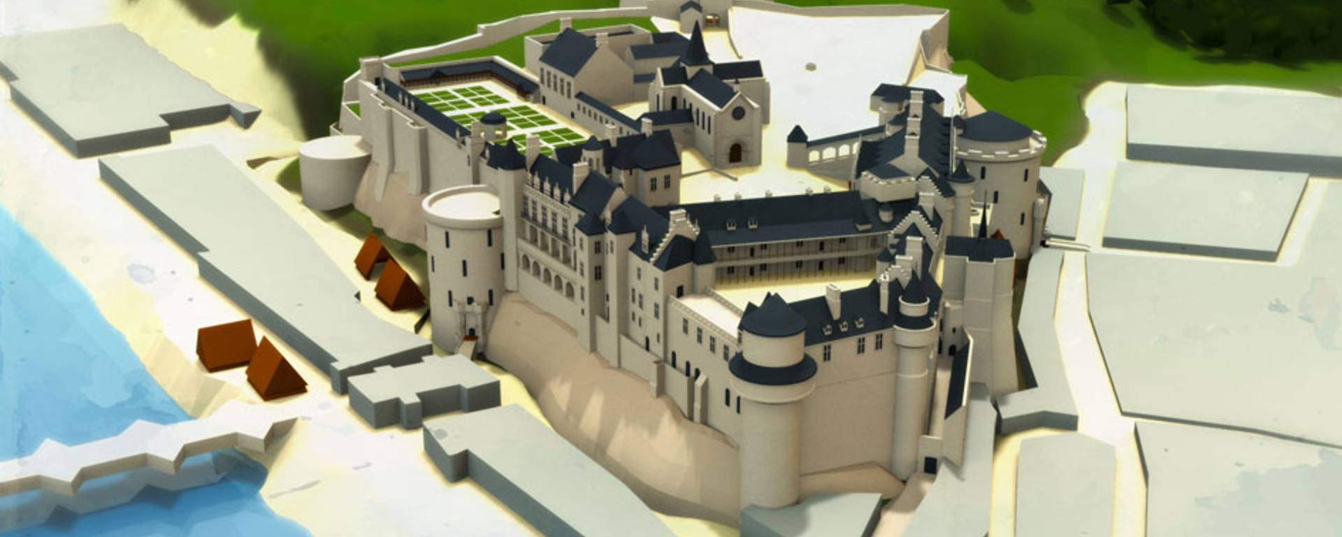 El Castillo en tiempos de Carlos XIII