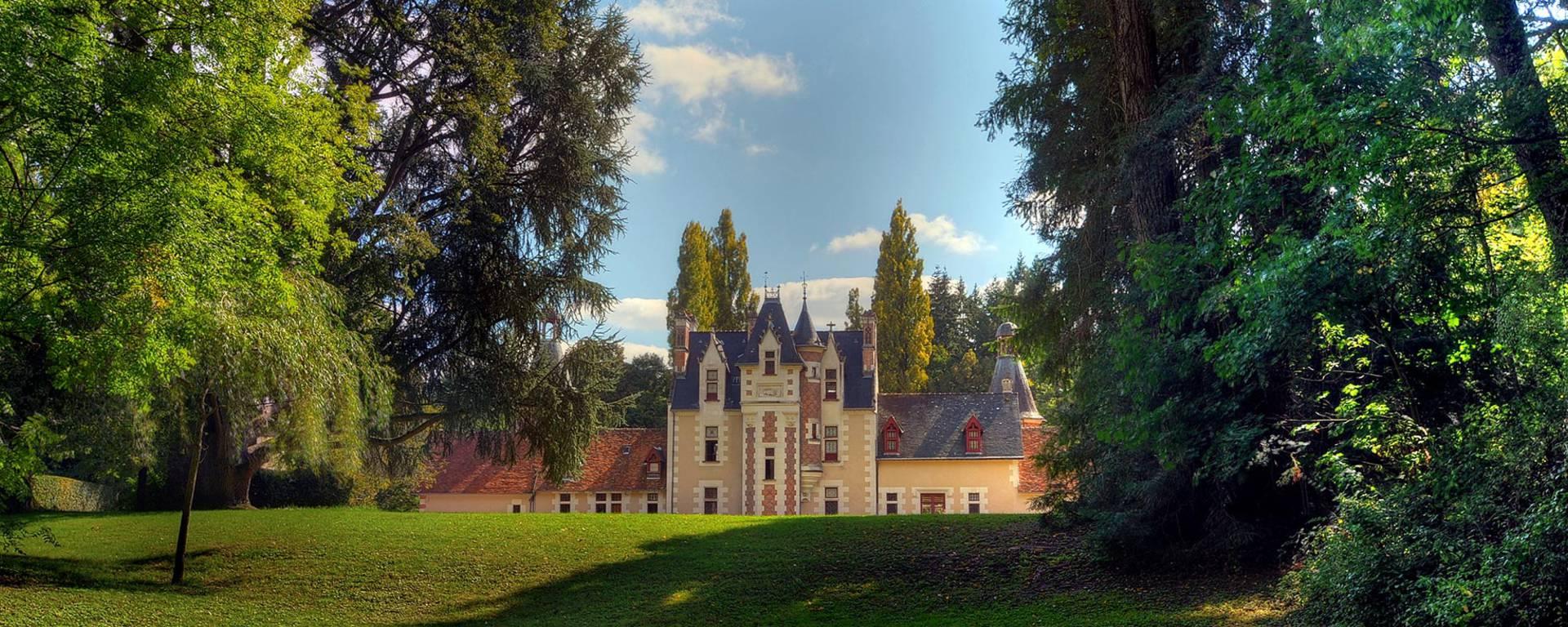 El parque del castillo de Troussay