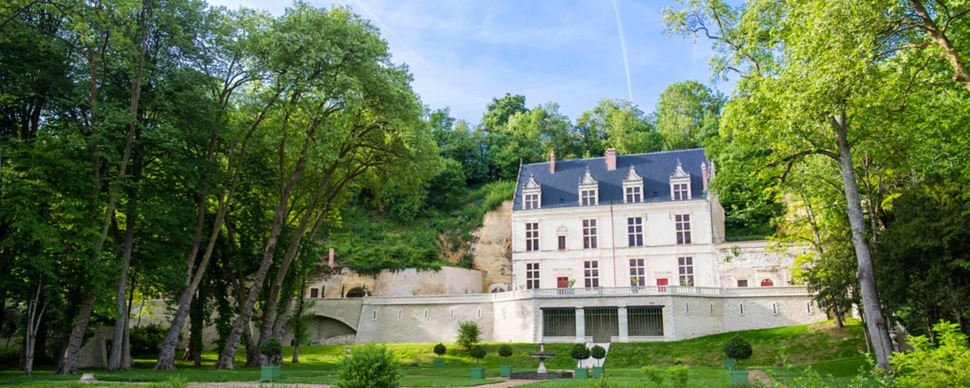 Vista exterior del Château Gaillard. © OTBC