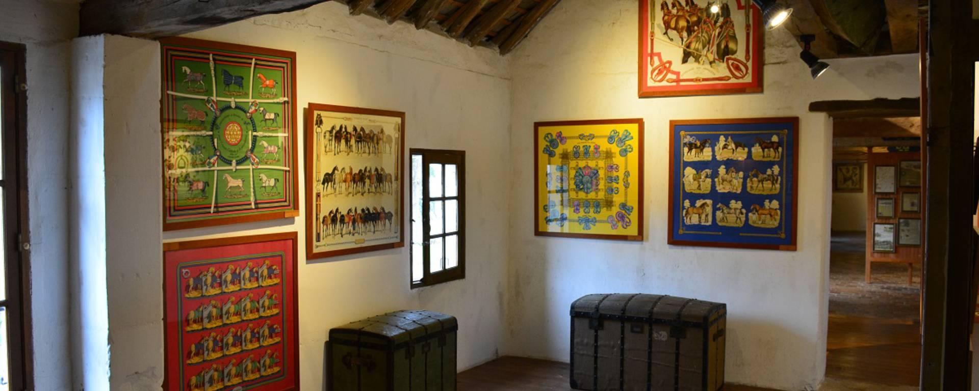 La salle Hermès du château de Montpoupon. © OTBC