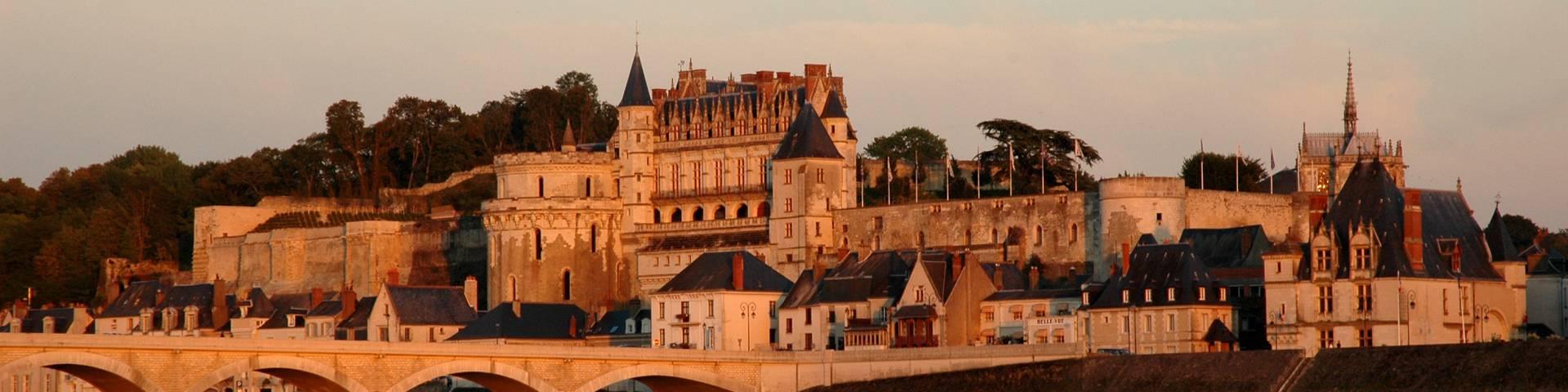 Magnífica vista del Castillo Real de Amboise. © JF Le Scour
