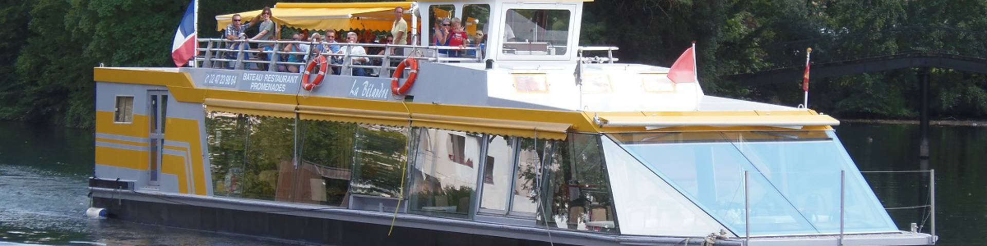 Crucero por el Cher con La Bélandre. © OTBC