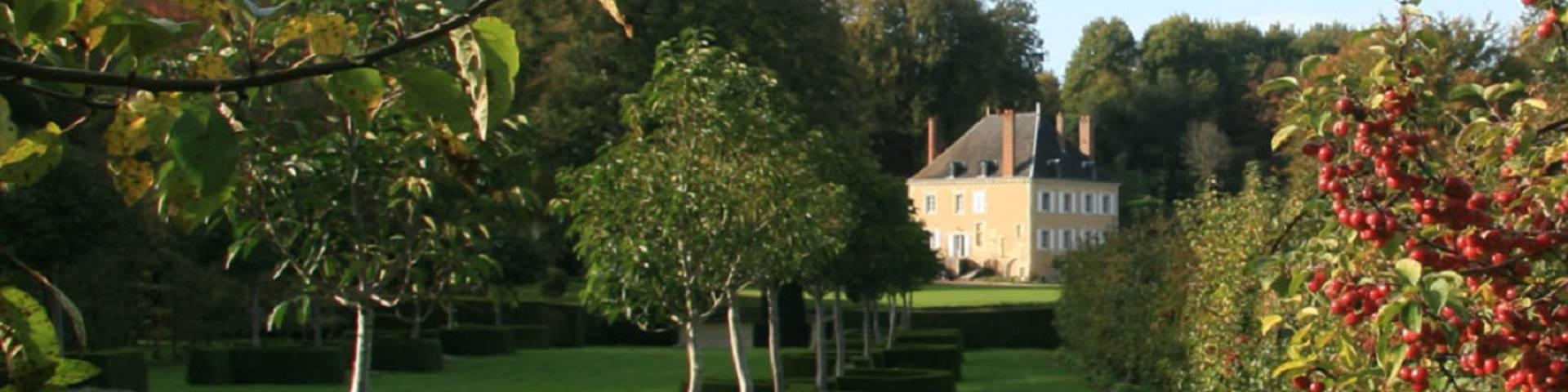 Jardines de Plessis Sasnières en Vendôme