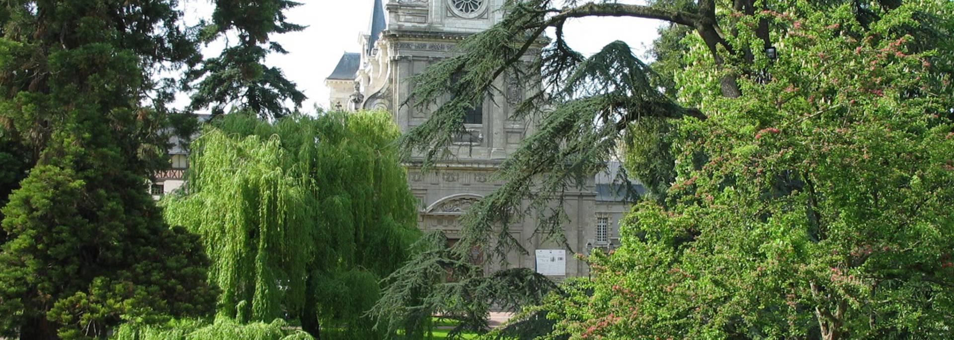 El jardín Augustin Thierry en Blois