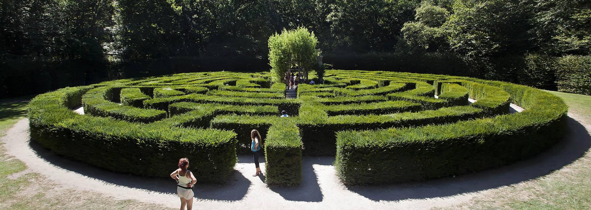 Jardines del Castillo de Chenonceau© Imágenes de Marc
