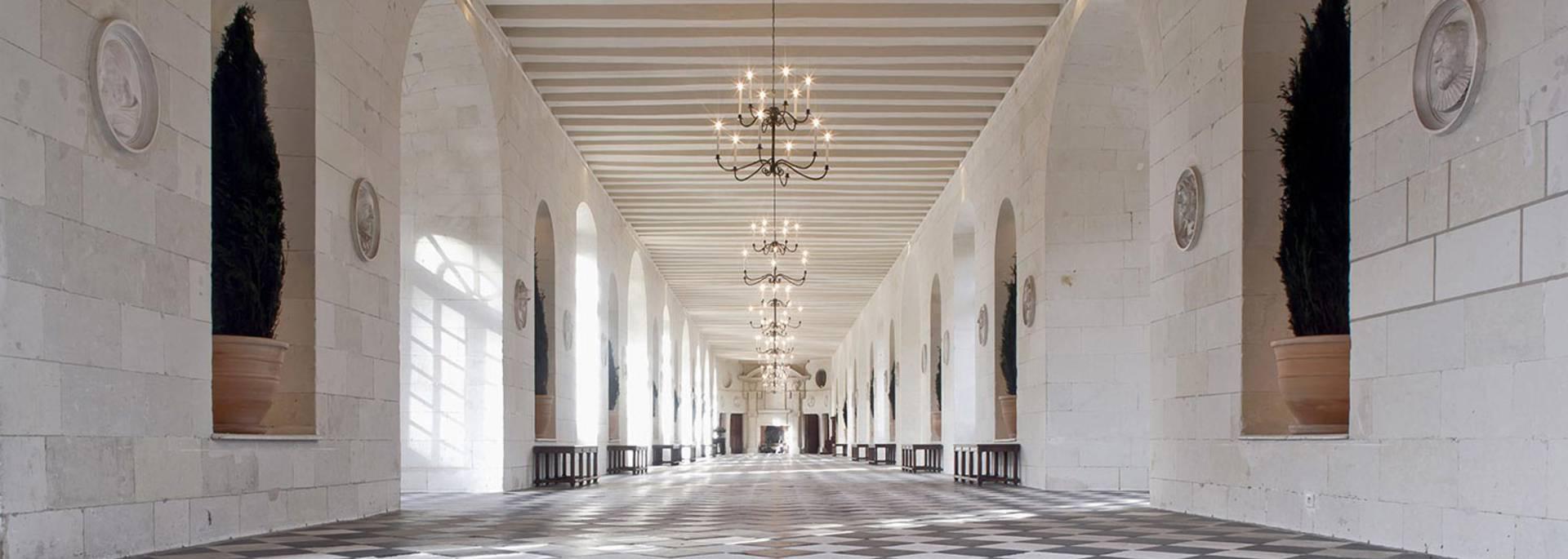 Interior del Castillo de Chenonceau