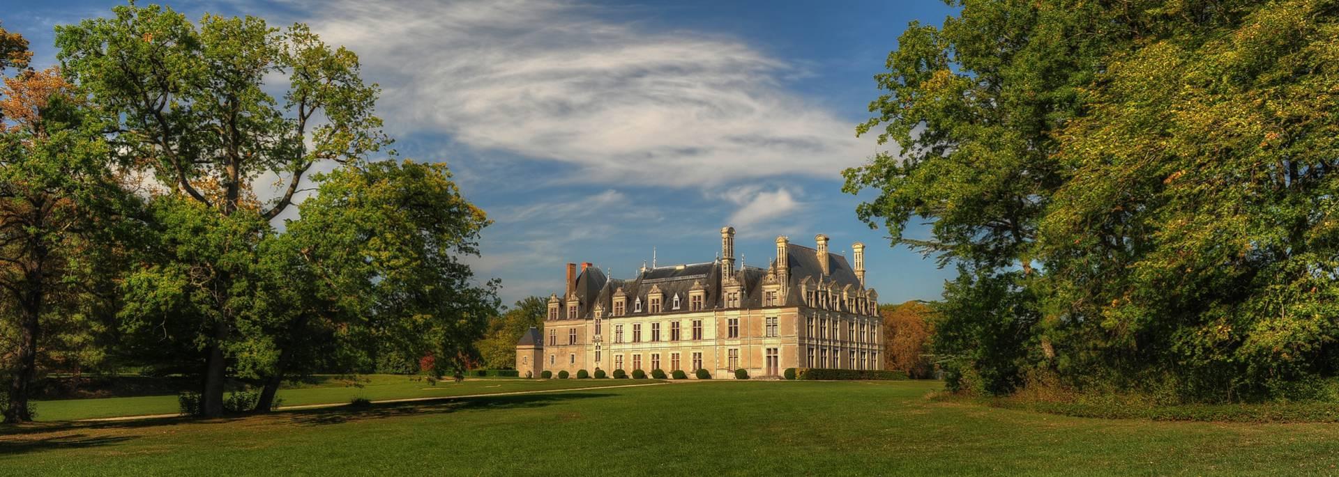 El parque del castillo de Beauregard