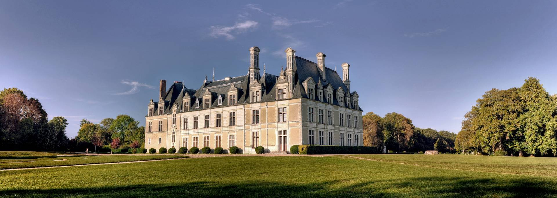 Le parc du château de Beauregard