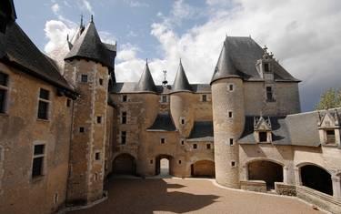 Castillo de Fougères-sur-Bièvre © P. Berthé - CMN-Paris