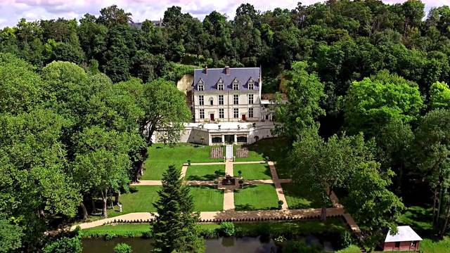 El Dominio Real de Château Gaillard en Amboise. © Château Gaillard