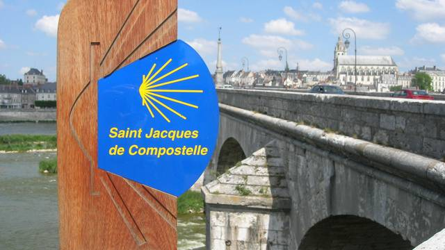 Camino de Santiago en Blois. © OTBC