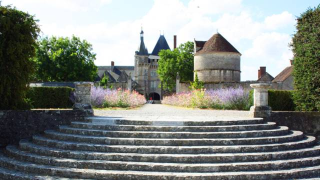 Château de Talcy. ©  OTBC