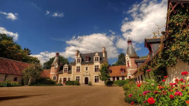 Le château de Troussay. © OTBC