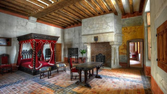 Dormitorio de Leonardo da Vinci. © L. De Serres