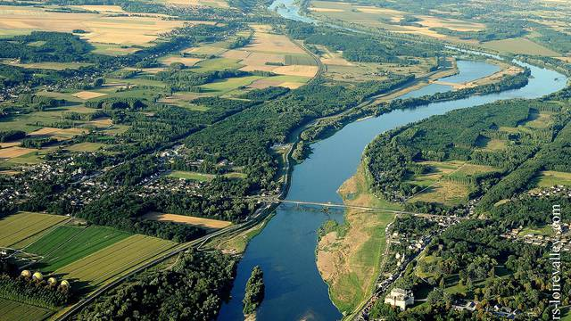 El territorio Blois-Chambord alrededor del Loira. © OTBC