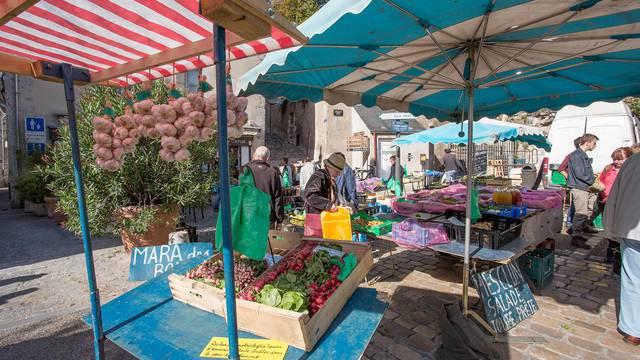 El mercado de Blois