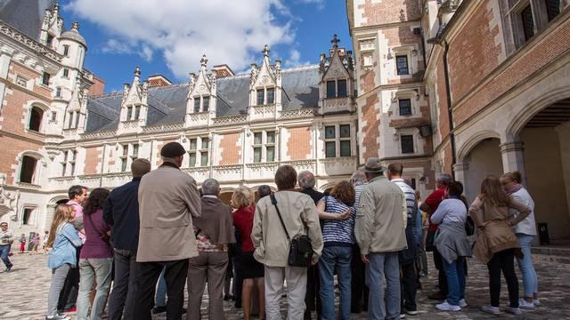 Visita al Castillo Real de Blois