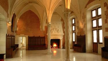 Sala del Consejo en el Castillo de Amboise. © JF Le Scour