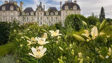 Jardín de los aprendices del Castillo de Cheverny. © CJN Thierry