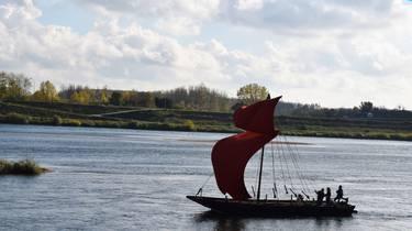 Barco en el Loira. © OTBC