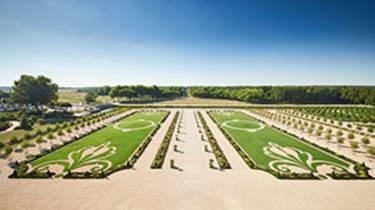 Los jardines de Chambord_ Crédit Benjamin Brolet