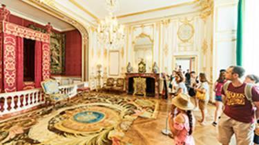 La cámara del rey en Chambord_Crédit Benjamin Brolet