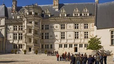 Castillo de Blois. © Atout France Michel Angot