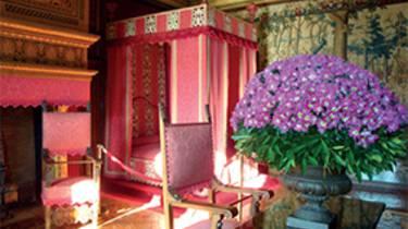 Dormitorio en el Castillo de Chenonceau