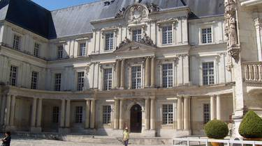 Patio interior del Castillo de Blois. © OTBC