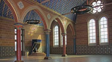 La sala de los Estados Generales en el Castillo de Blois. © OTBC