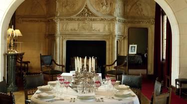 Comedor en el Castillo de Chaumont-sur-Loire