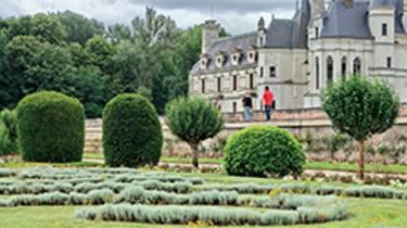 Jardines en el Castillo de Chenonceau