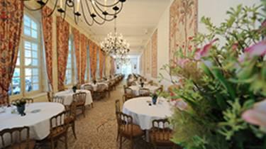 Sala del restaurante del Castillo de Chenonceau ©BriqEcliptique