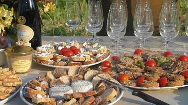 Degustación de productos regionales. © OTI