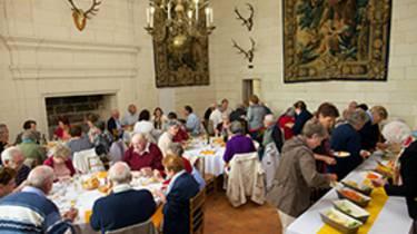 Almuerzo en el dominio de Chambord © Ludovic Letot