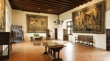 Sala del copero en el Castillo de Amboise. © Stevens Fremont