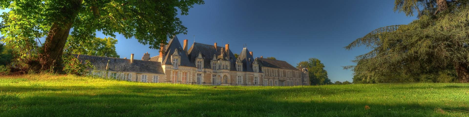 Le château de Villesavin. © L. de Serres