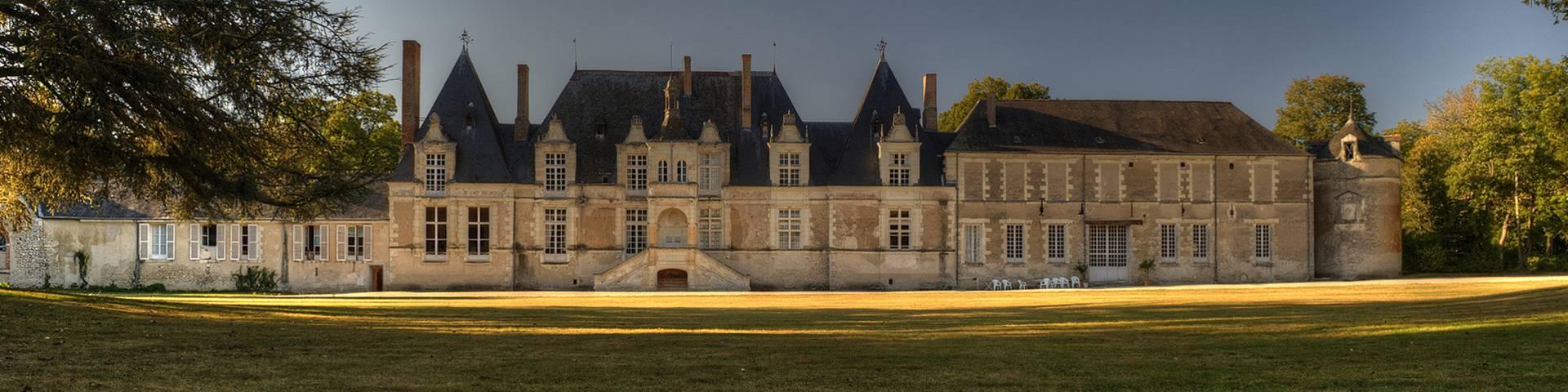 El castillo de  Villesavin. © L. de Serres