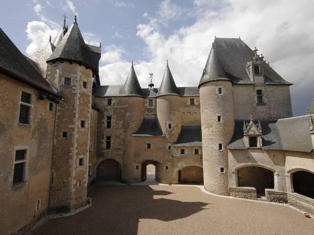 El castillo de Fougères-sur-Bièvre. © OTBC