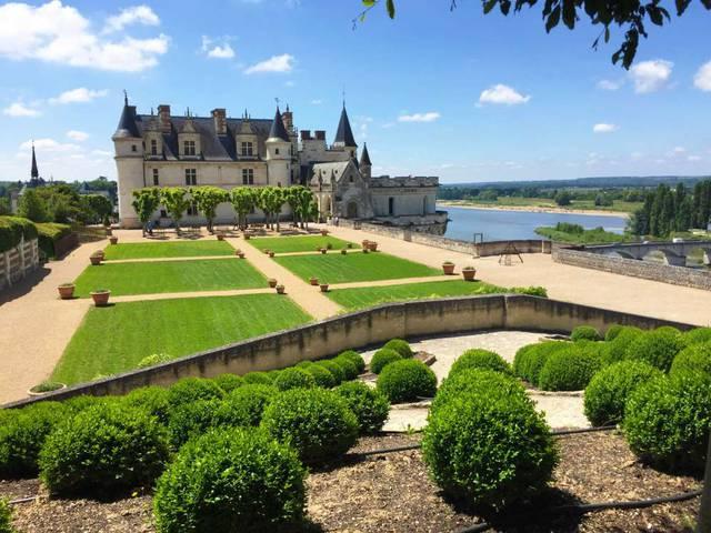 El Castillo de Amboise y sus jardines © OTBC