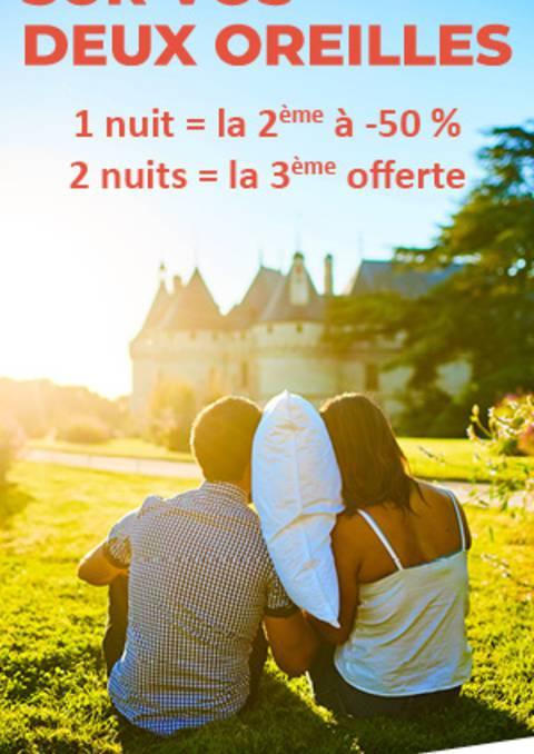 Le bon plan hébergement dans les Châteaux de la Loire  - Espagnol