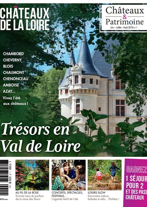 Magazine Châteaux de la Loire 2018