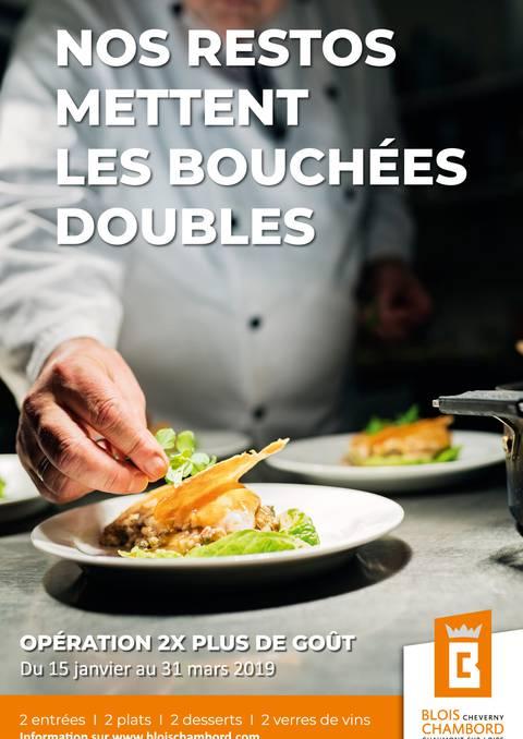 Operación 2 veces más sabor en el Valle del Loira