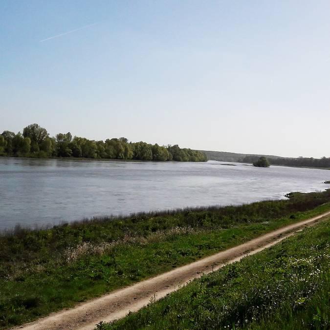 Las orillas del Loira en Chouzy-sur-Cisse