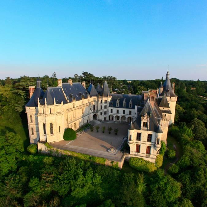 La cara norte del Castillo de Chaumont-sur-Loire. © OTBC