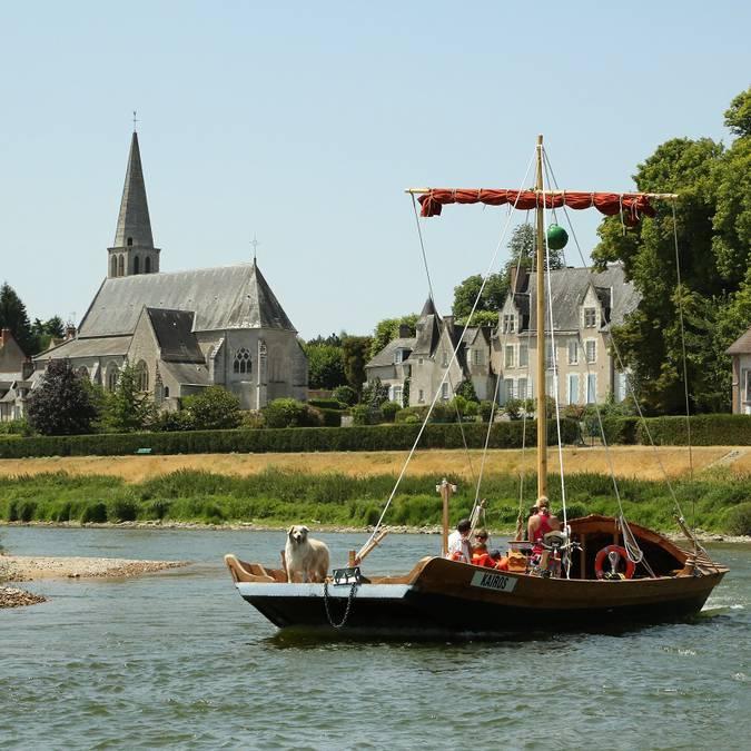 Barco Kaïros en Montlivault