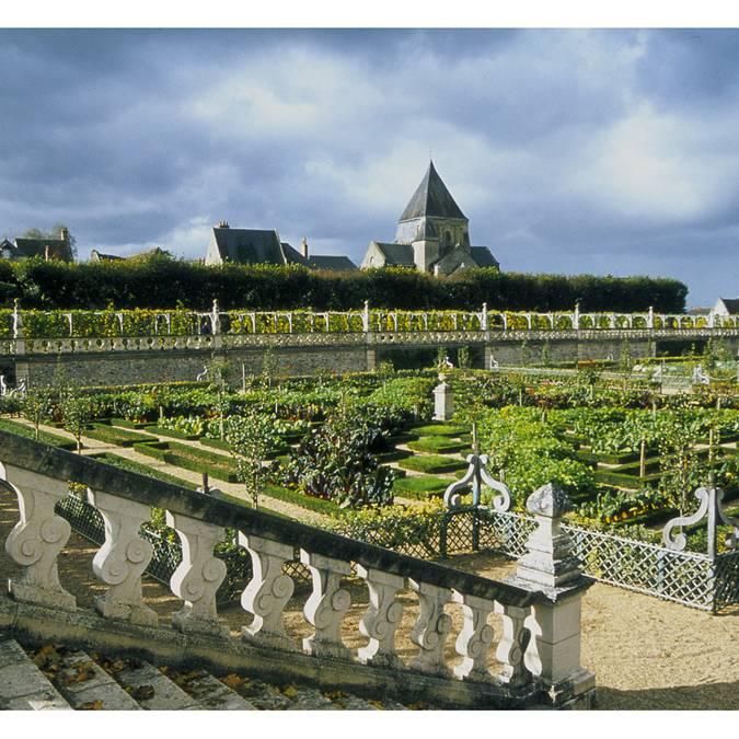 Jardines del Castillo de Villandry. © OTBC
